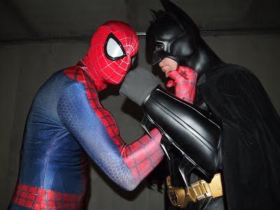 batman versus spiderman